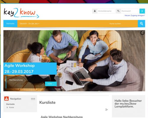 key2know learning management systeme
